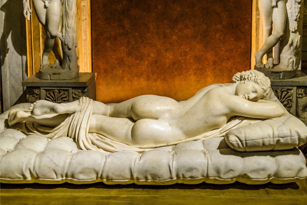Canova Borghese boroque art Rome tour