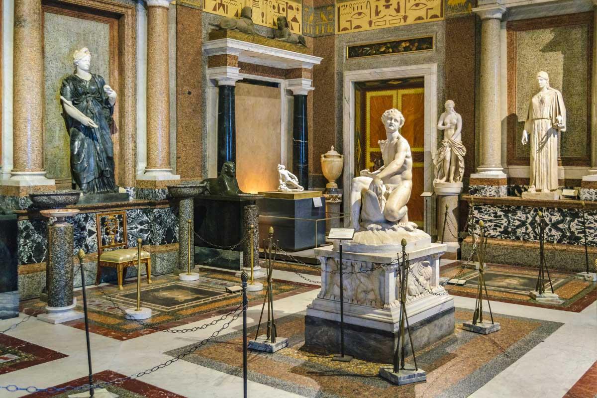 Art and sculpture tour rome