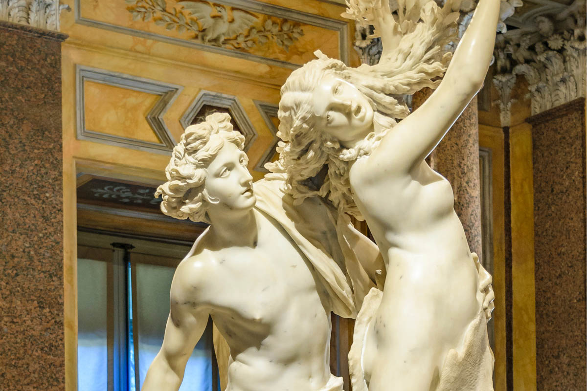 Bernini Art gallery tour rome borghese