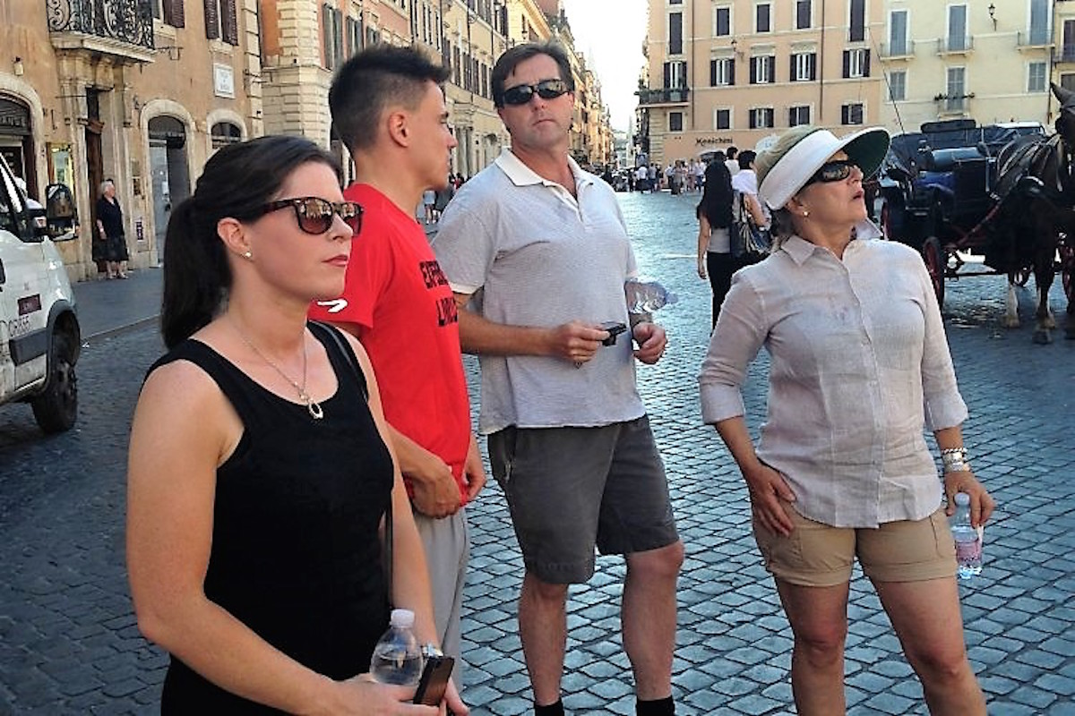 private walking tour of rome