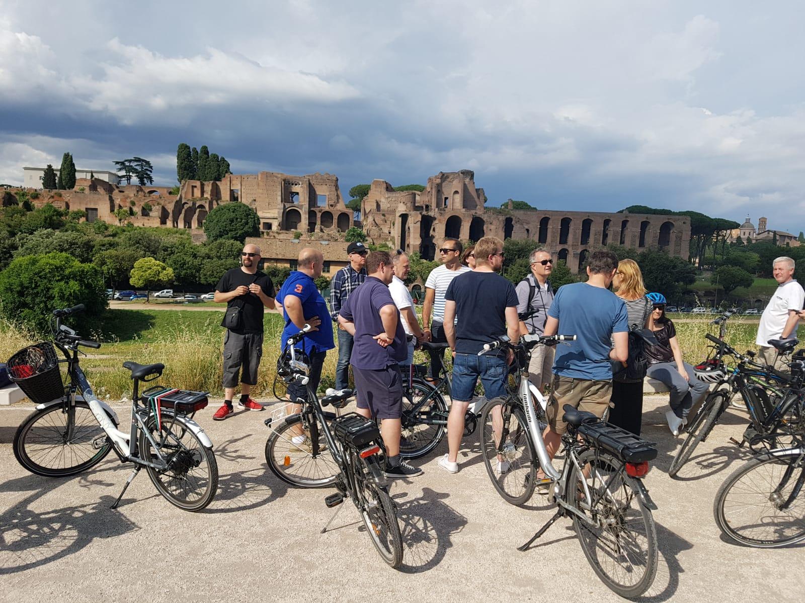 bike tour rome