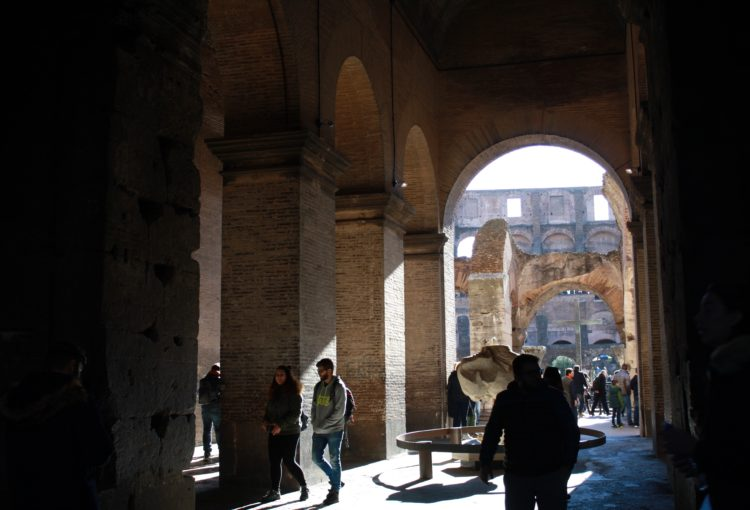 rome colosseum gladiator gate