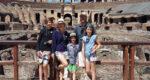 colosseum gladiator gate in rome