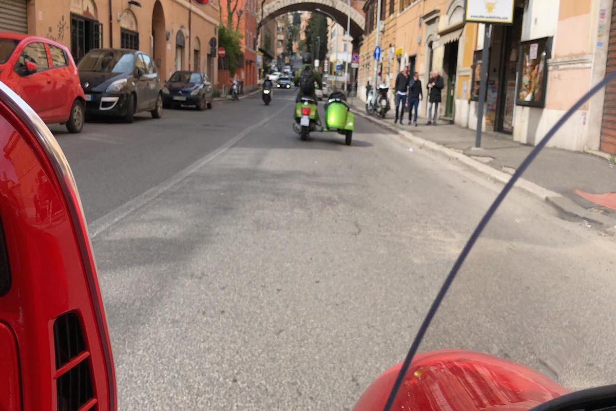 best vespa sidecar tour rome livtours