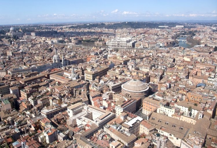 helicopter tour around rome