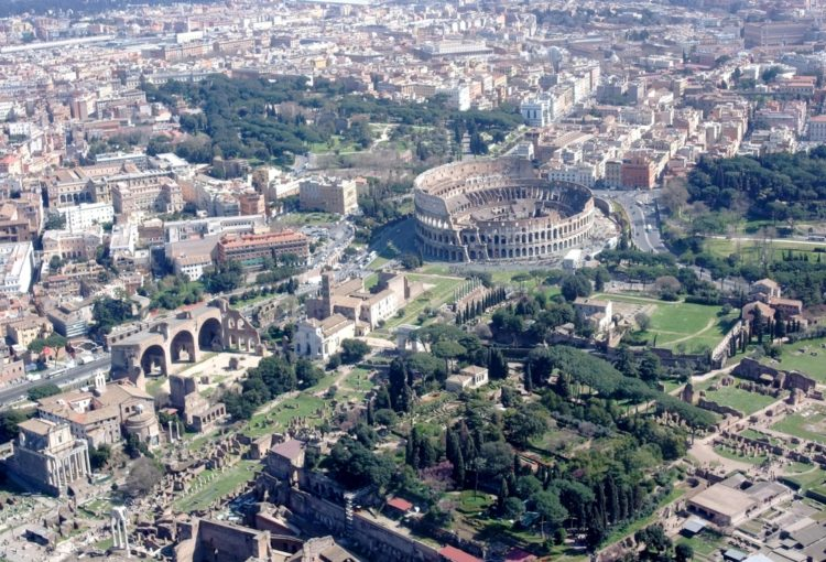 helicopter tour rome