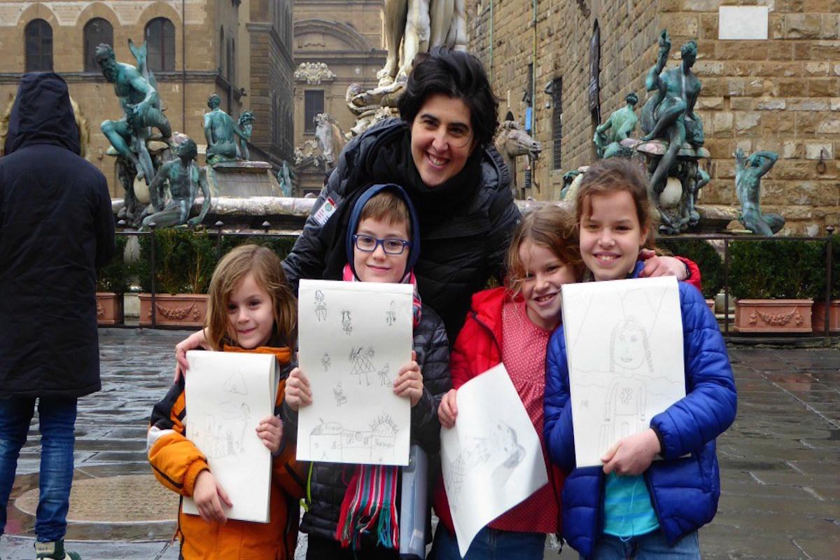 florence tour & drawing class