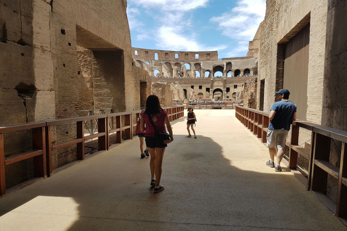 best colosseum tour with underground