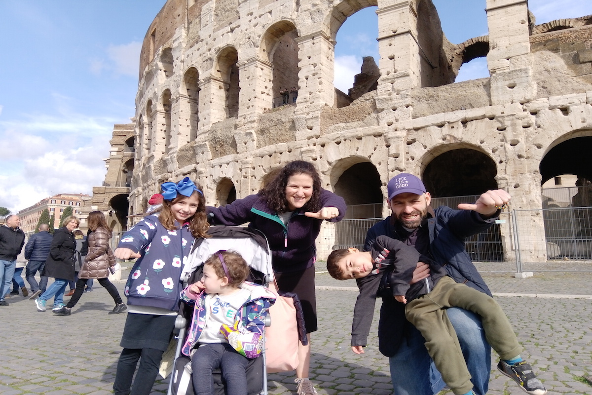colosseum tour for kids