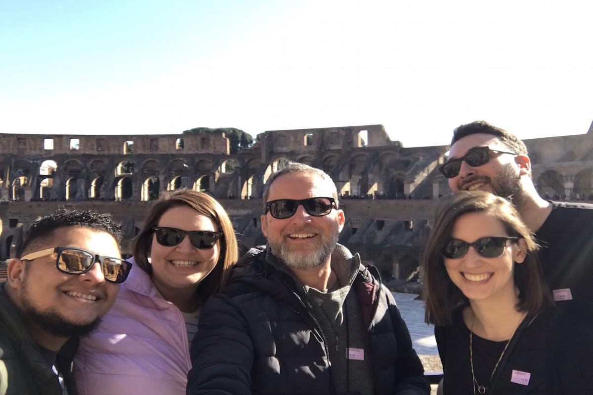 top level colosseum tour rome livtours