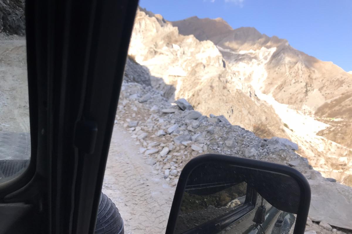 best carrara marble quarry tour