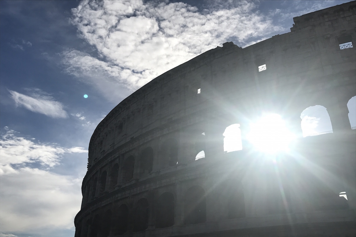 top level colosseum tour