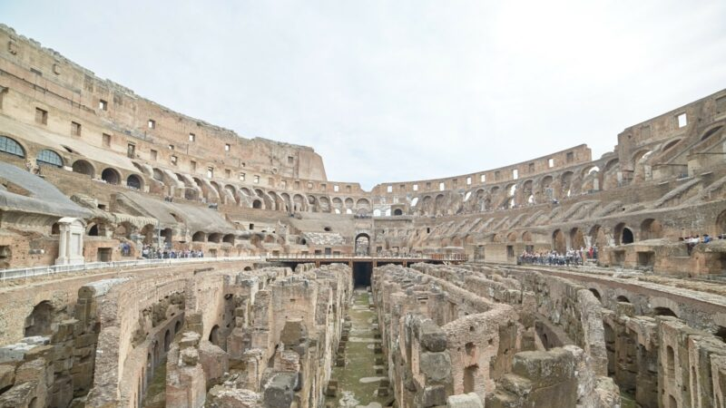 colosseum gladiator gate