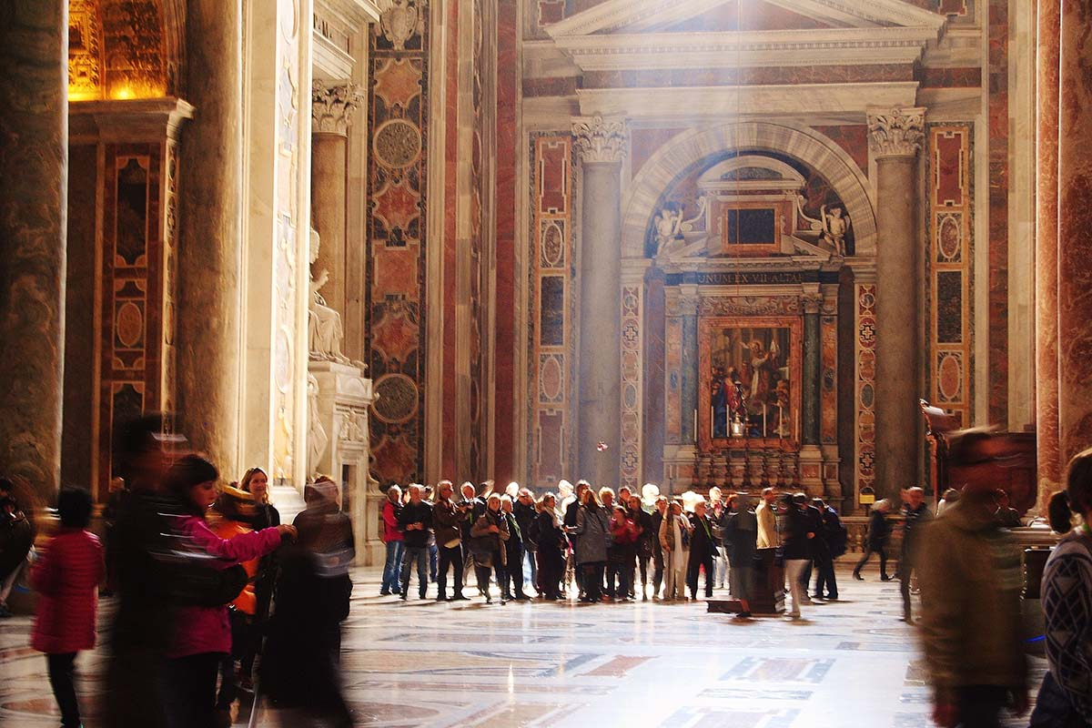 History of St Peters Basilica tour