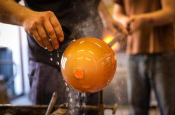 murano glass blowing tour