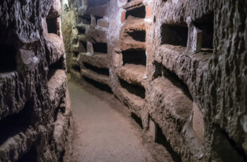 private catacombs night tour rome