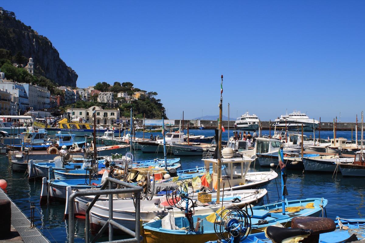 capri private boat tour