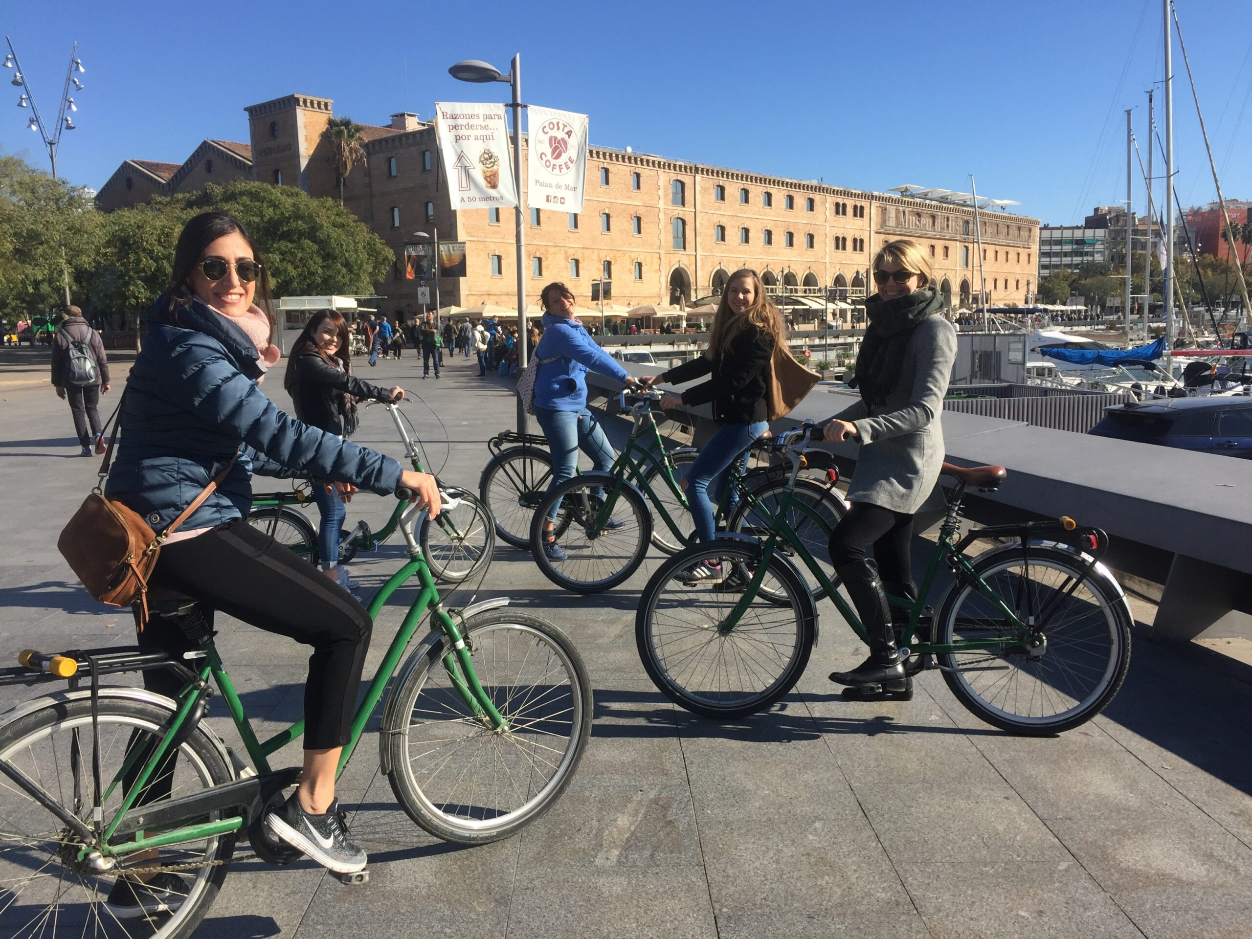 best bicycle tour of barcelona