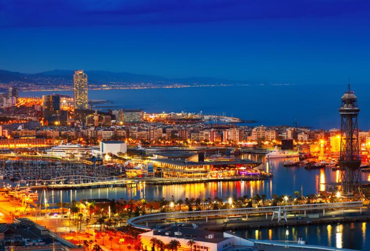 best evening tour barcelona