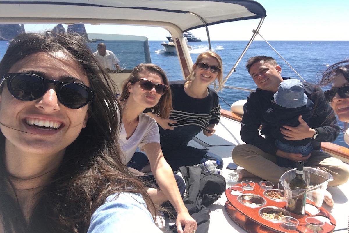 capri private boat tour livtours
