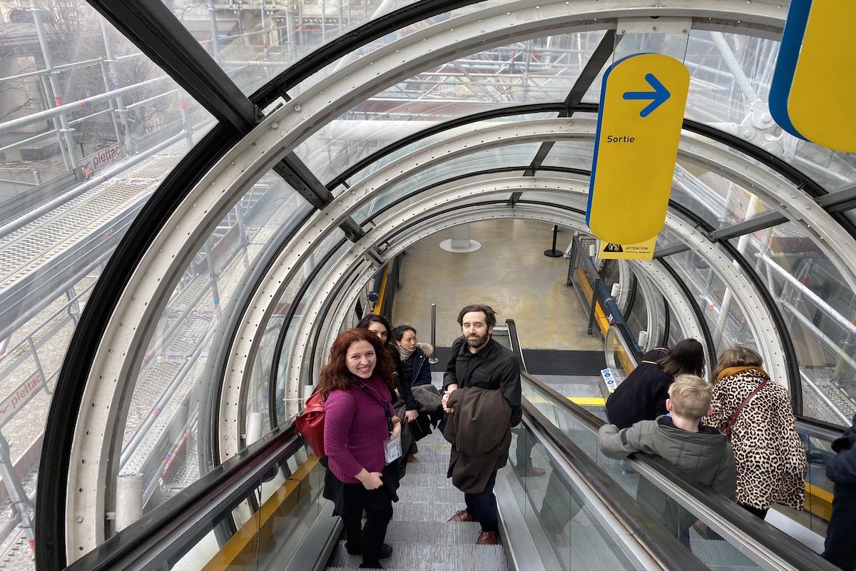 pompidou tour livtours