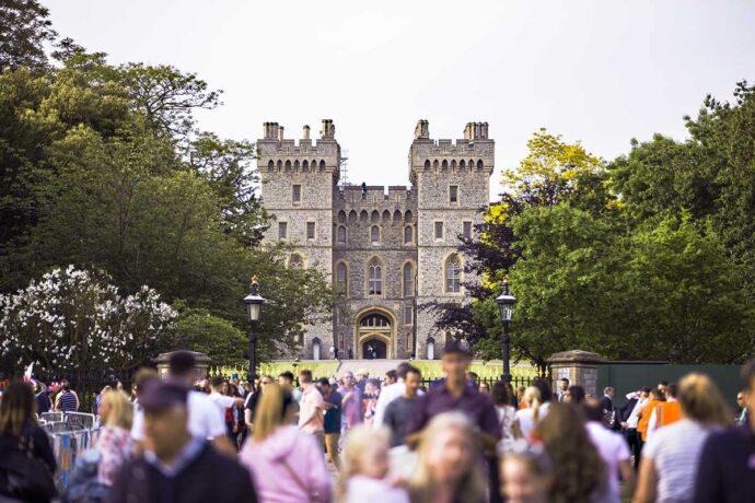 Windsor Castle from London