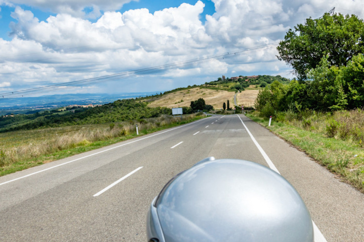 motorcycle tour tuscany