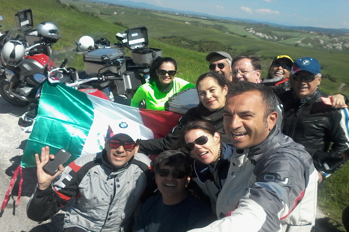 motorcycle tour of tuscany italy